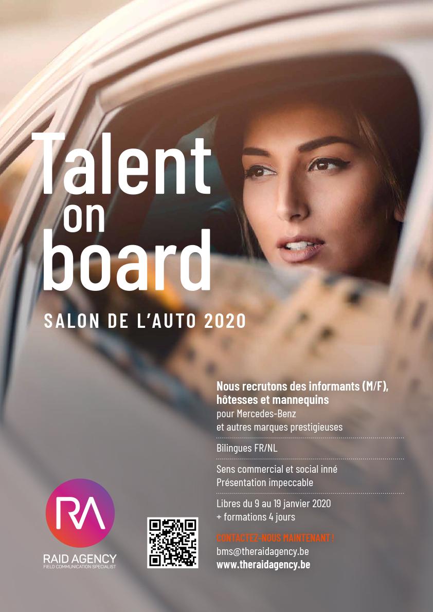 Salon auto Job 2020